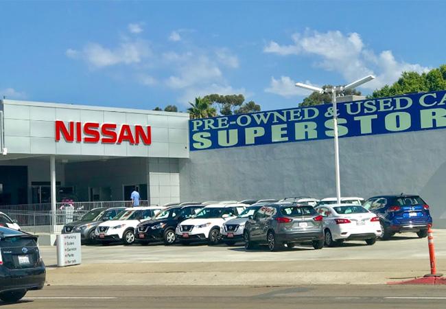 Lang Nissan Dealership - Mission Bay, San Diego, CA