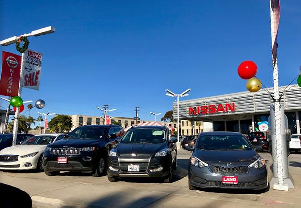 Lang Nissan Dealership in Mission Bay, CA