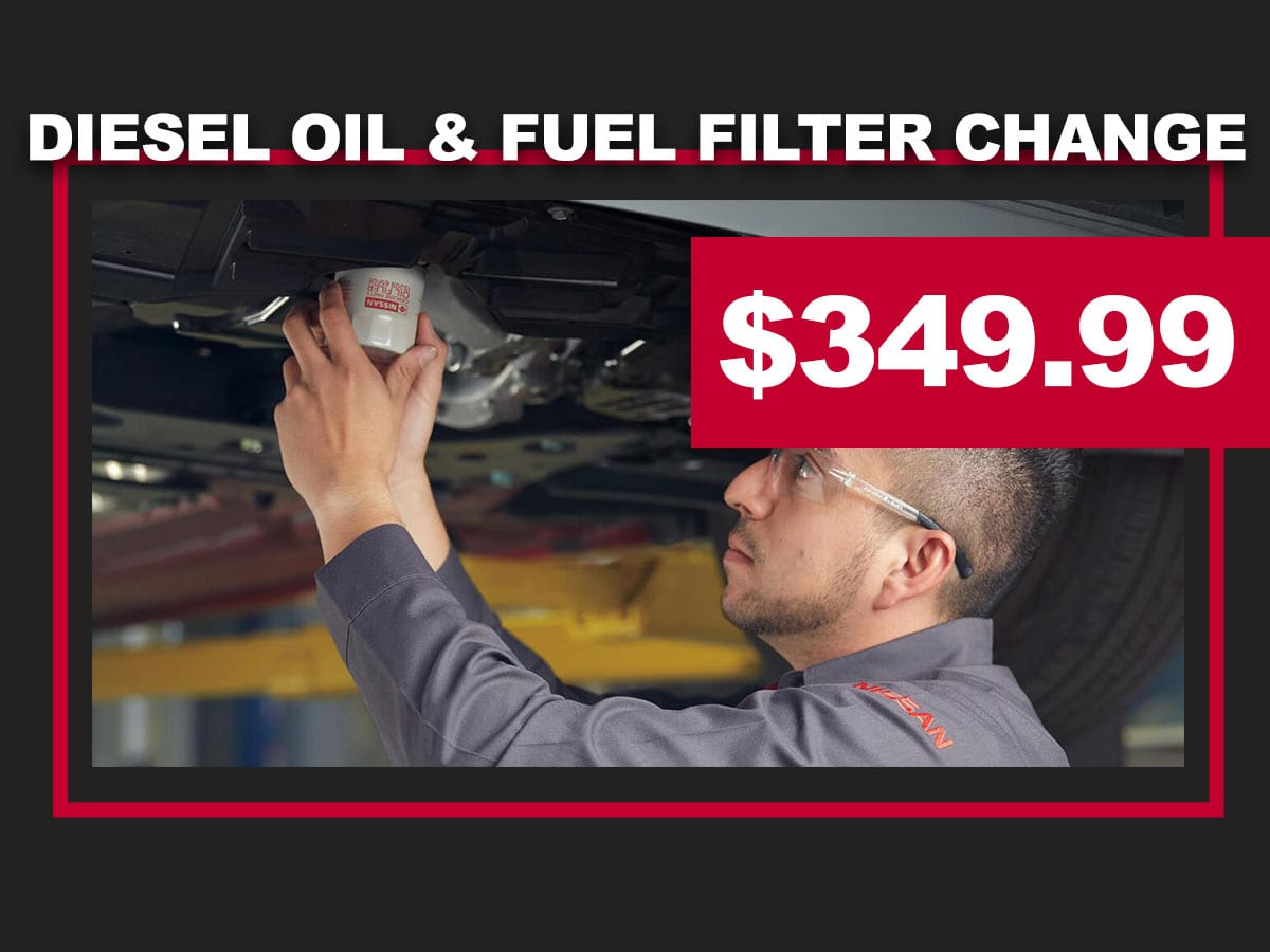 Nissan Diesel Oil Change Coupon