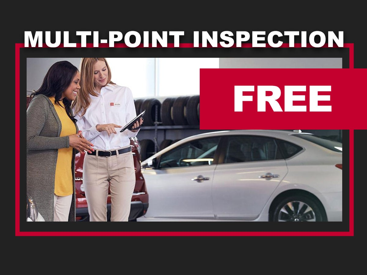 Nissan Multi-Point Inspection Service Coupon