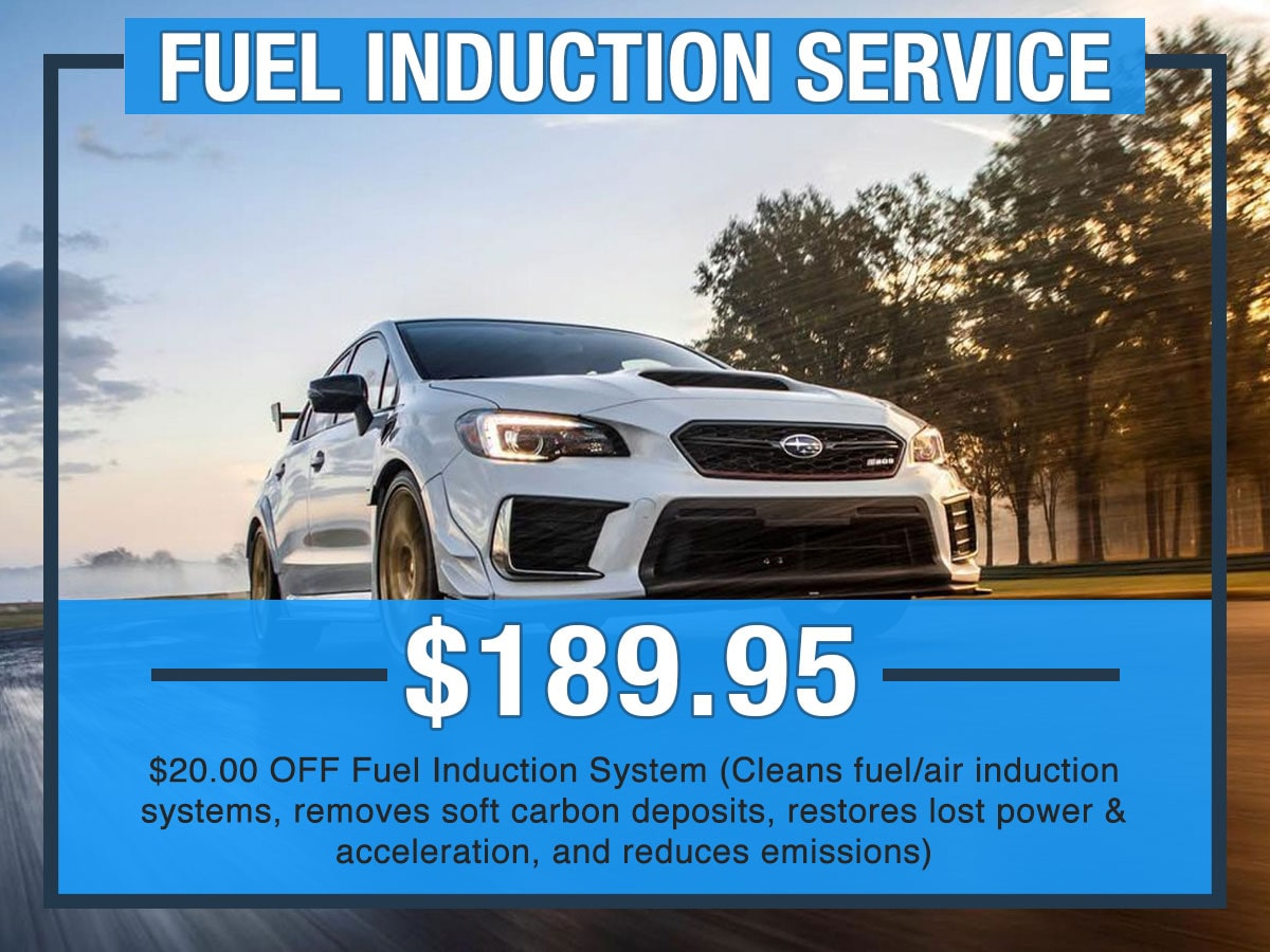 Fuel Induction Service >> Fuel Induction Service Briggs Subaru Of Topeka