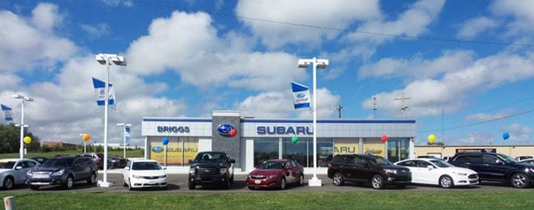 Briggs Subaru of Topeka Dealership