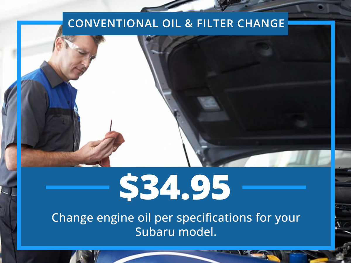 Conventional Oil Change Special Coupon