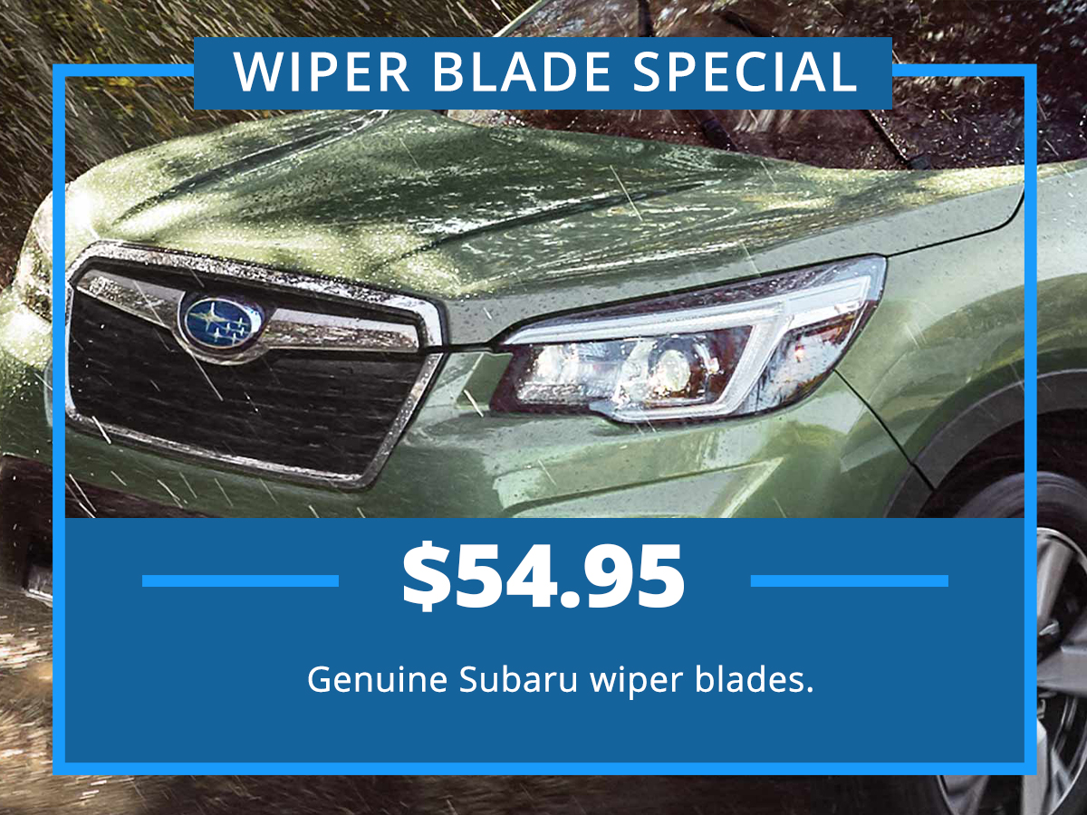 Wiper Blade Service Special Coupon