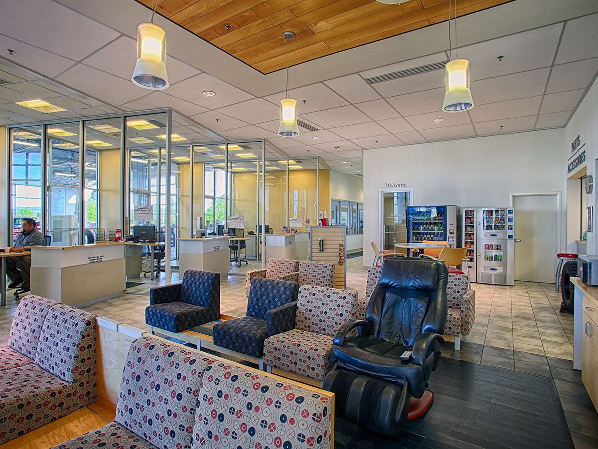 Dealership Lounge