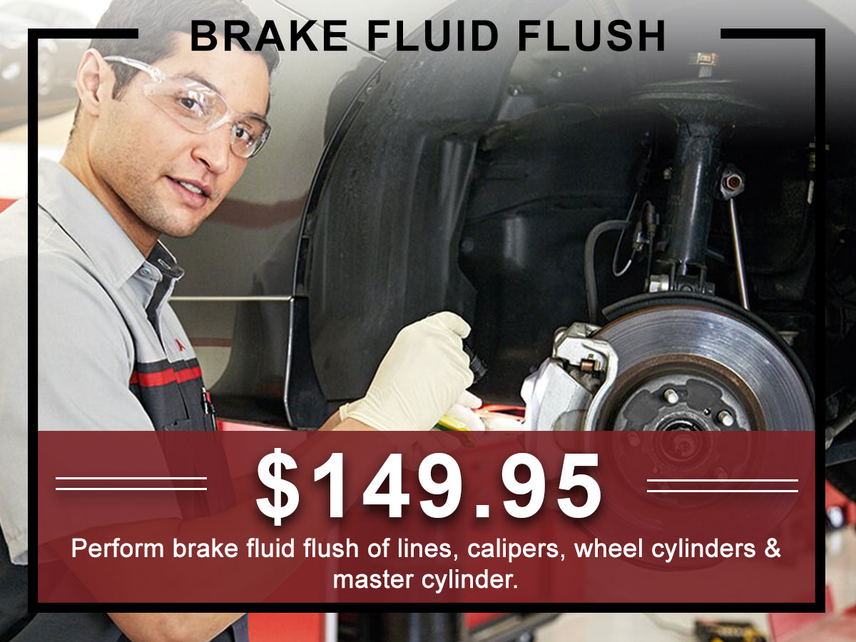I-5 Toyota Service Specials Coupons Brake Fluid exchange Service in Chehalis, WA