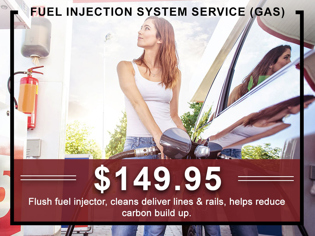 I-5 Toyota Service Specials Coupons Fuel Injection System Service in Chehalis, WA