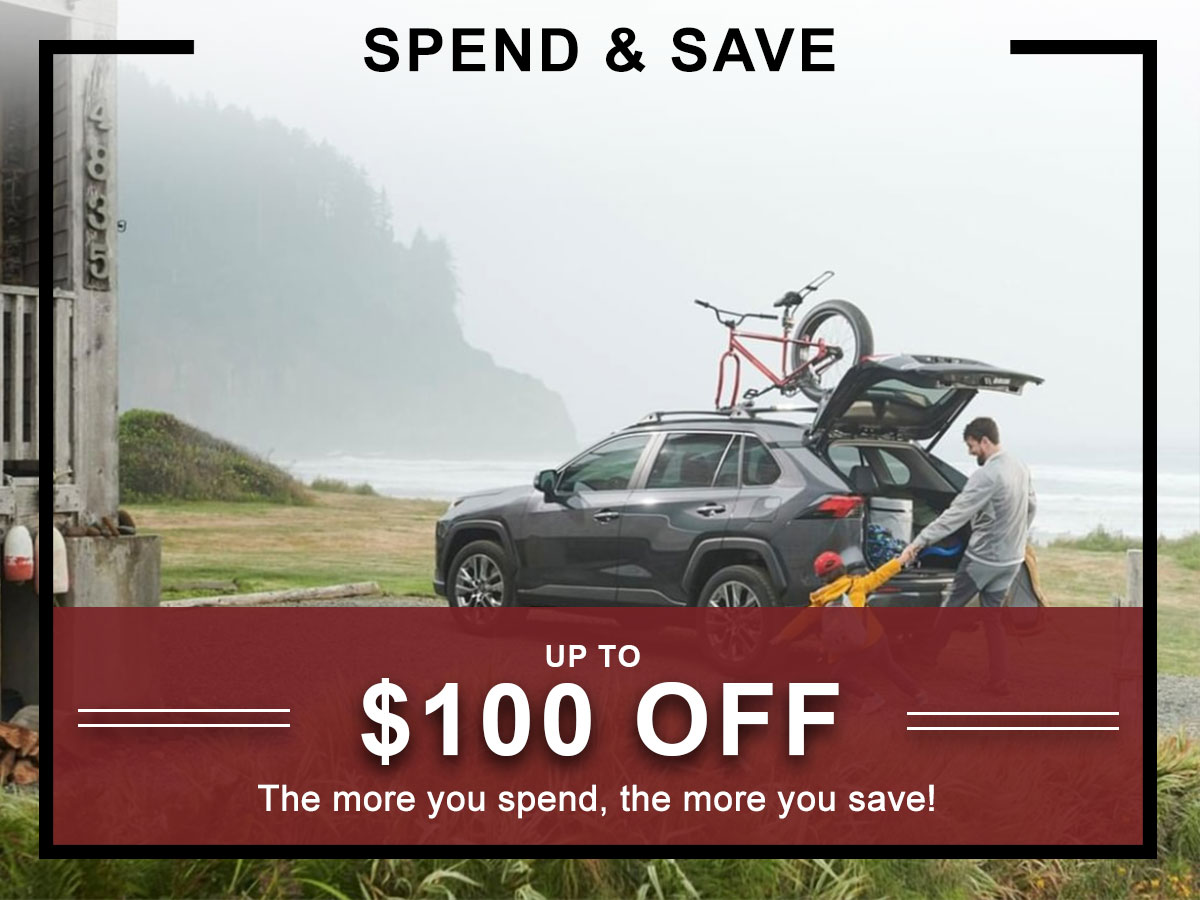 I-5 Toyota Service Specials Coupons Spend & Save Service in Chehalis, WA
