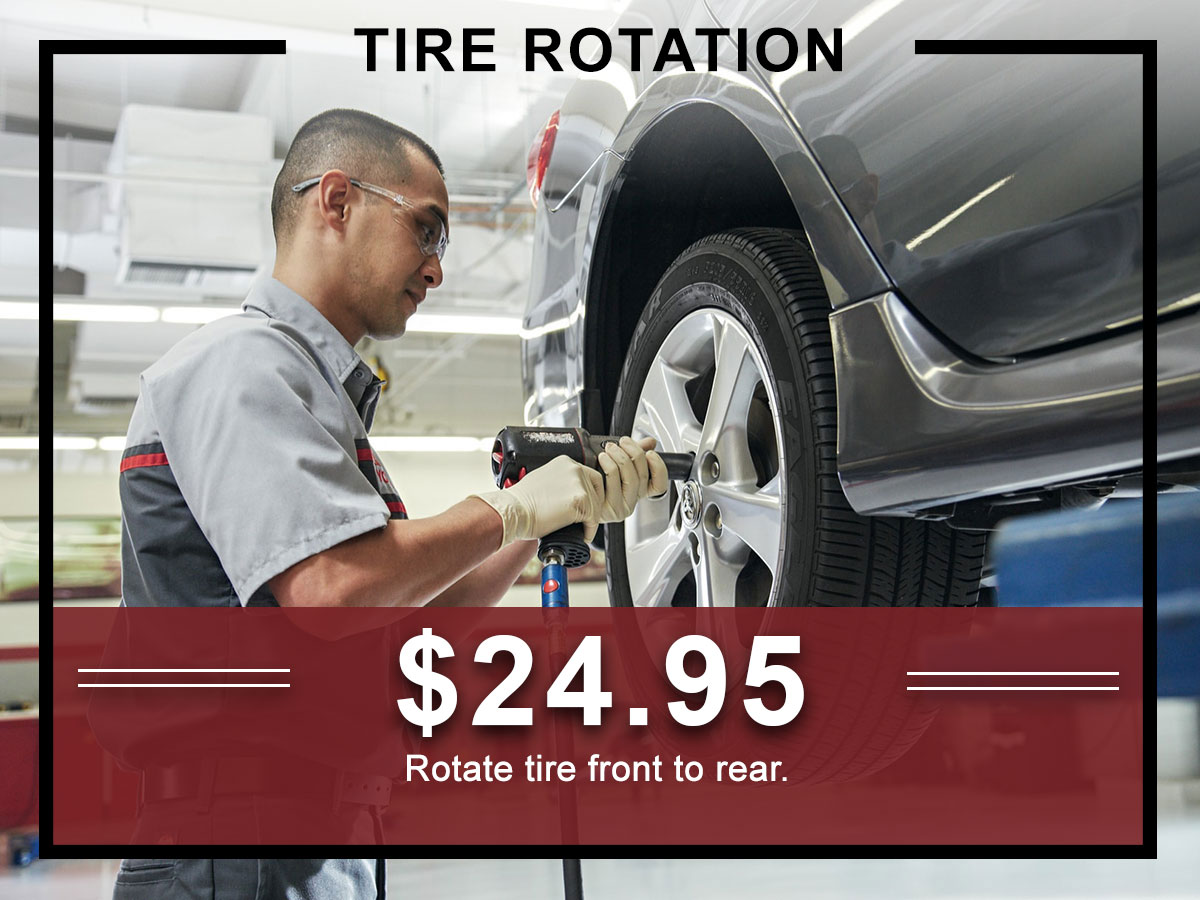 Tire Rotation Brake Inspection Service Special