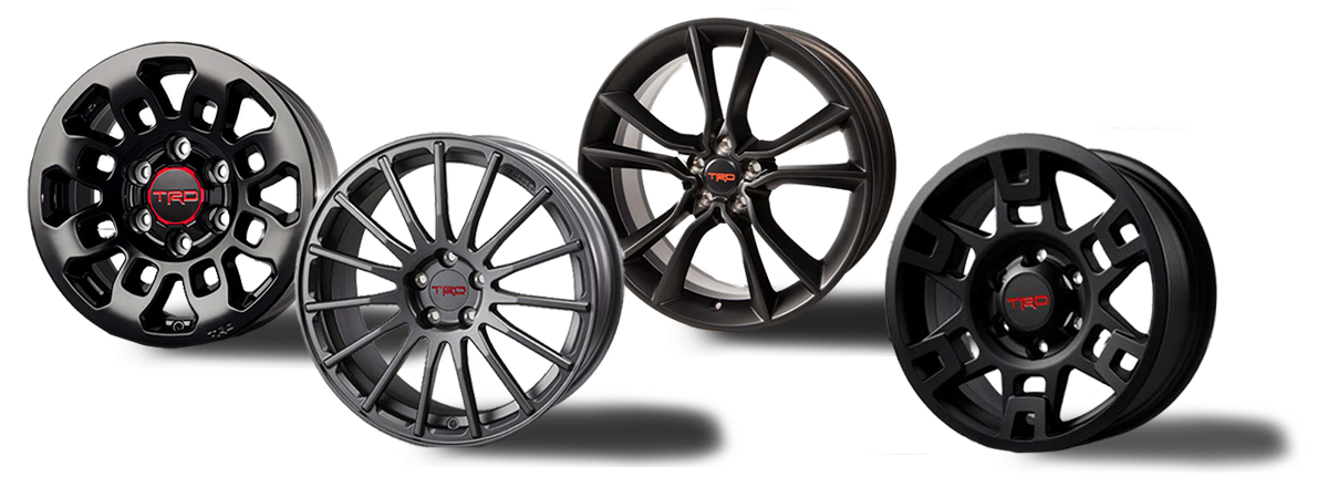 TRD Wheels Accessory Jay Wolfe Toyota of West County