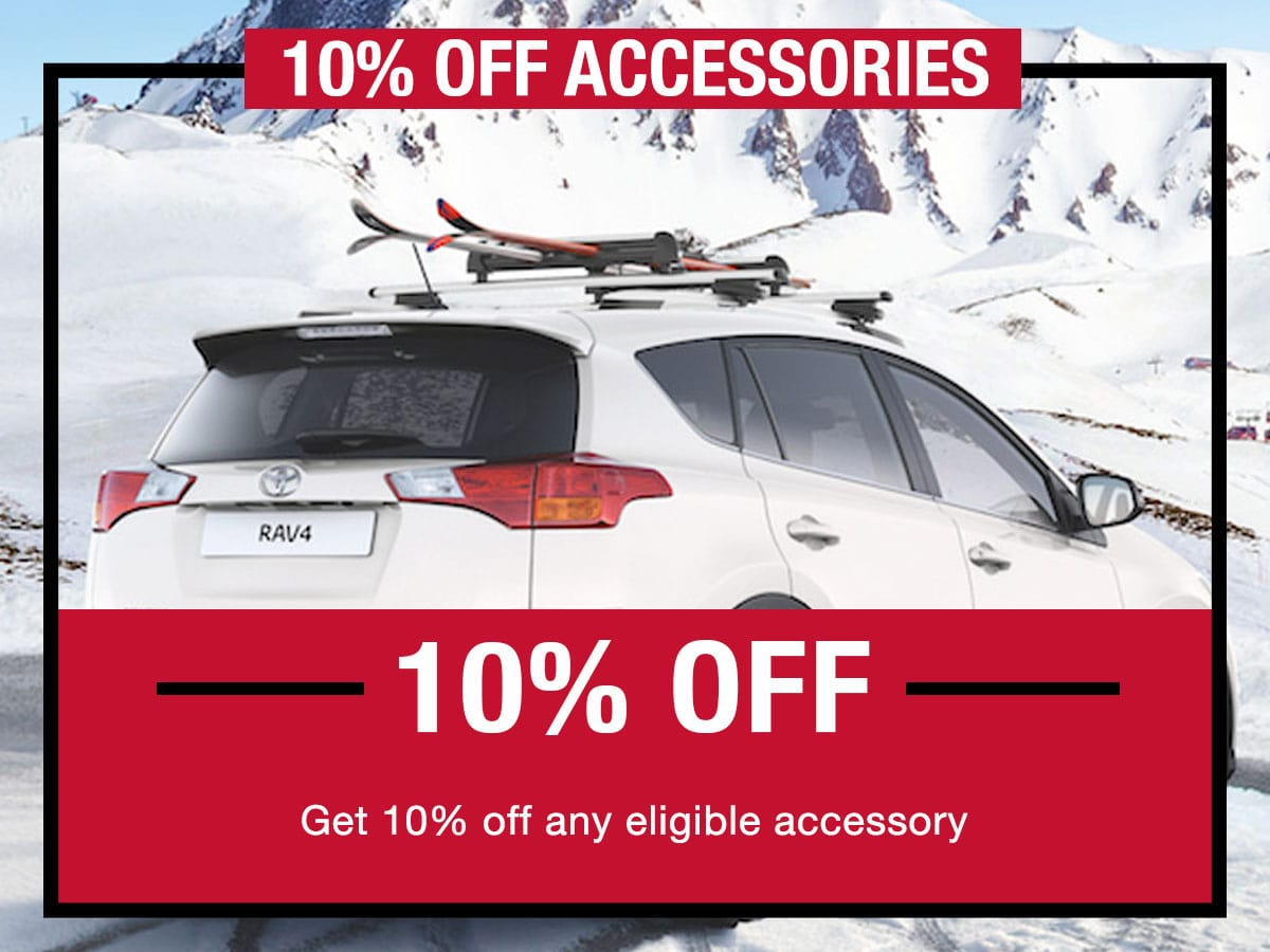 10% Off Accessories Special LaFontaine Toyota Dearborn, MI