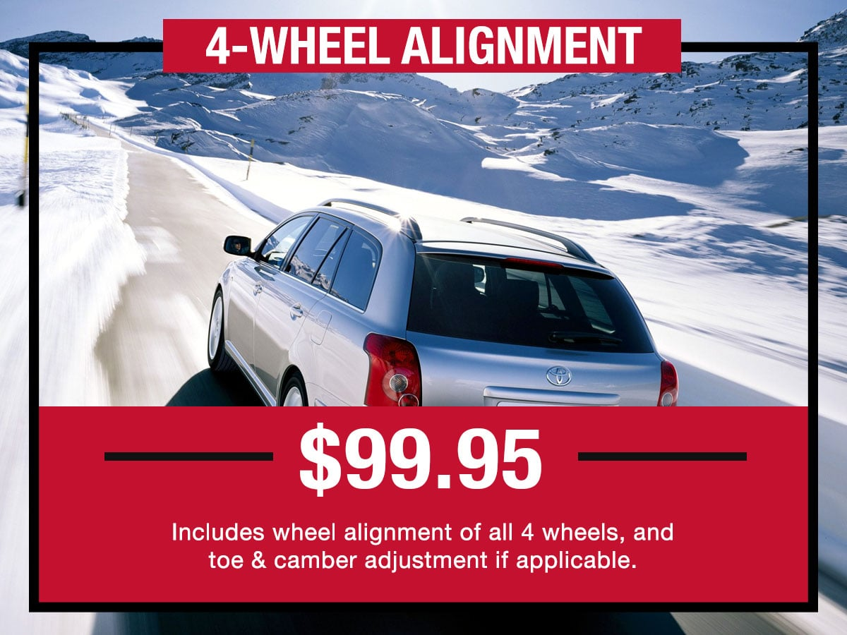 4-Wheel Alignment Service Special LaFontaine Toyota Dearborn, MI