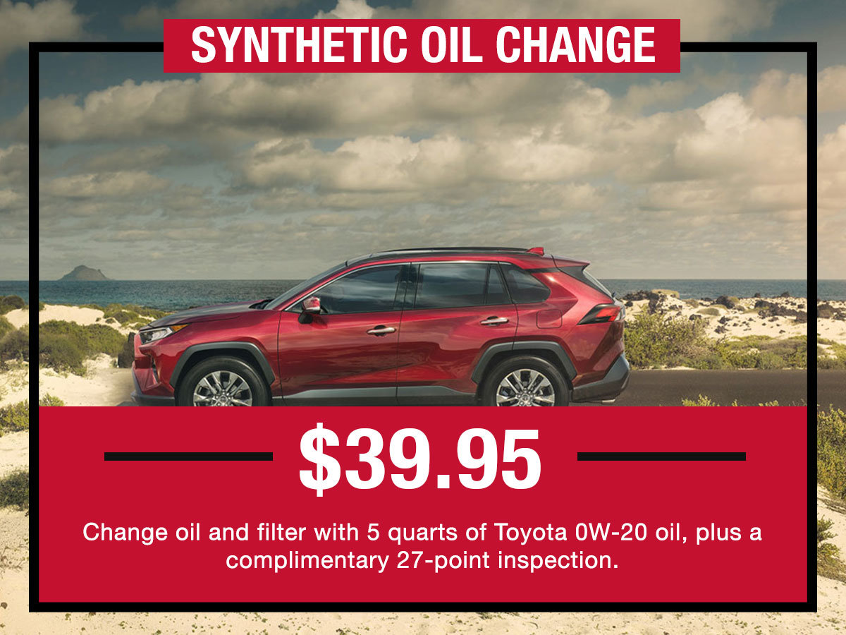 LaFontaine Toyota Full Synthetic Oil & Filter Change Service Coupon