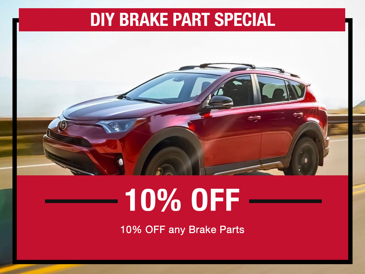 Brake Part Service Special Coupon LaFontaine toyota Dearborn, MI