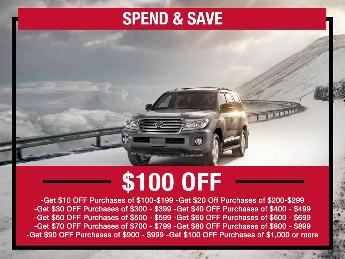 Spend & Save Service Special LaFontaine toyota Dearborn, MI