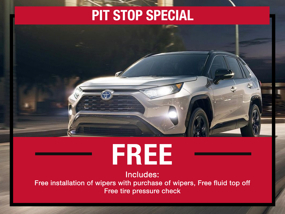 Pit Stop Service Special LaFontaine toyota Dearborn, MI