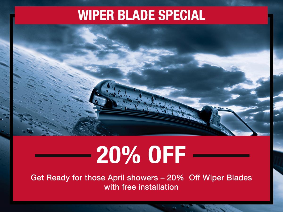 Wiper Blade Service Special LaFontaine toyota Dearborn, MI