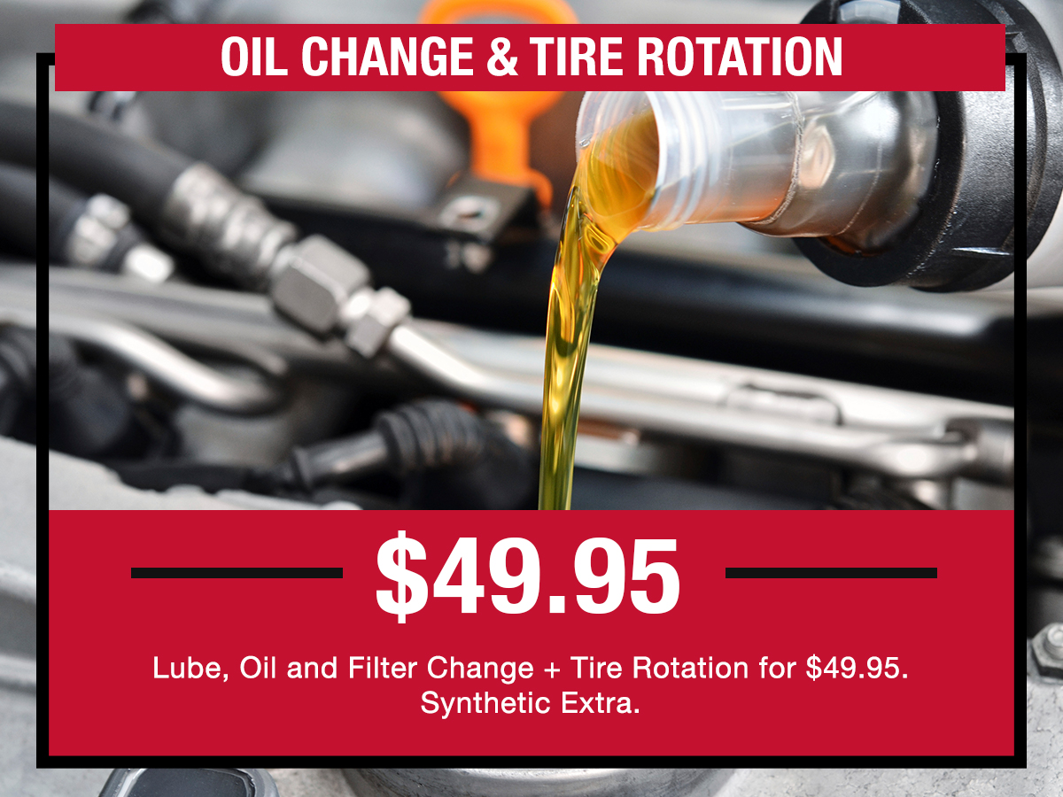Oil Change & Tire Rotation Service Special Coupon LaFontaine Toyota Dearborn, MI