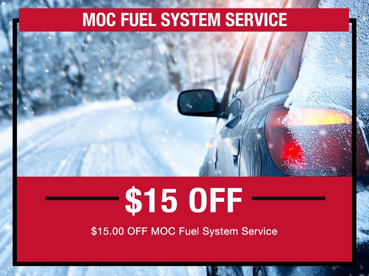 MOC Fuel System Service Special LaFontaine toyota Dearborn, MI