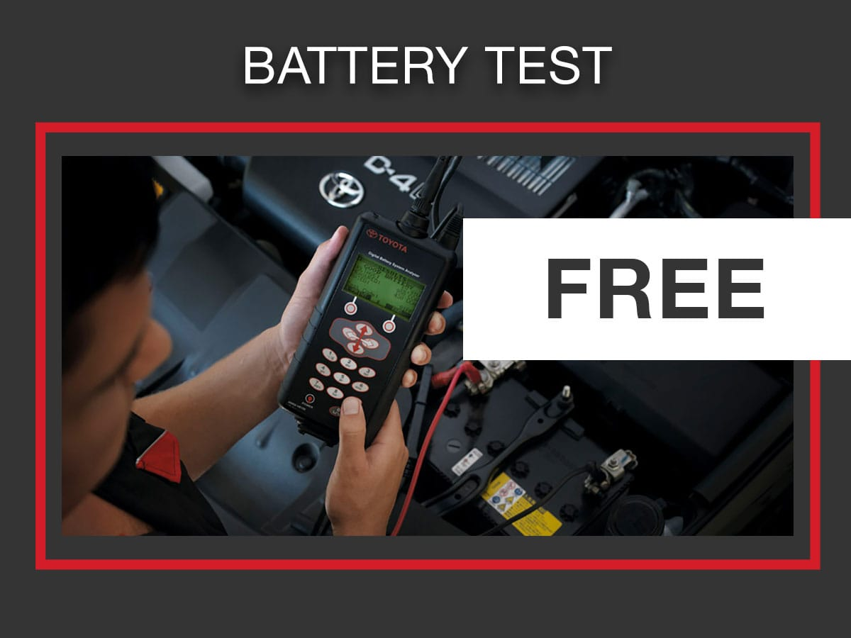 Toyota Service & Parts Special Discount Oil Change Coupons | Rolling