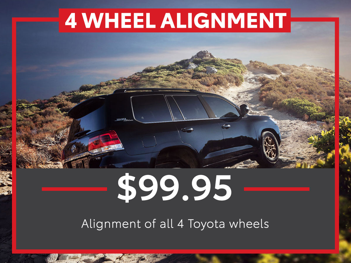 Four Wheel Alignment Service Special Coupon