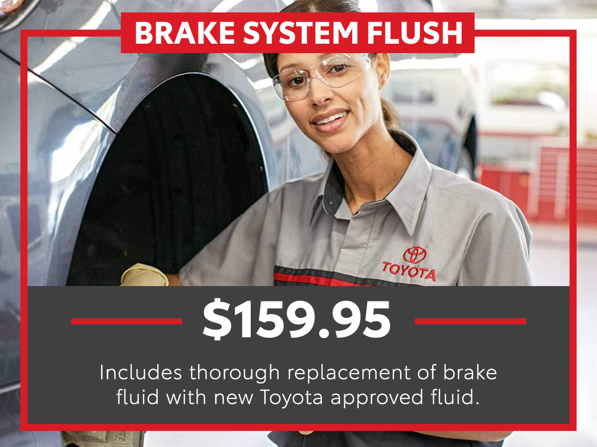 Brake System Flush Service Special Coupon