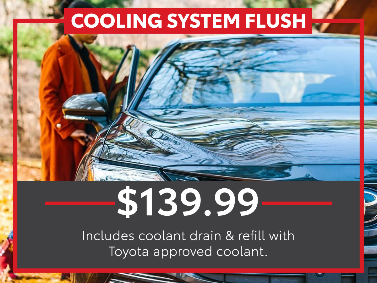 Cooling System Flush Service Special Coupon