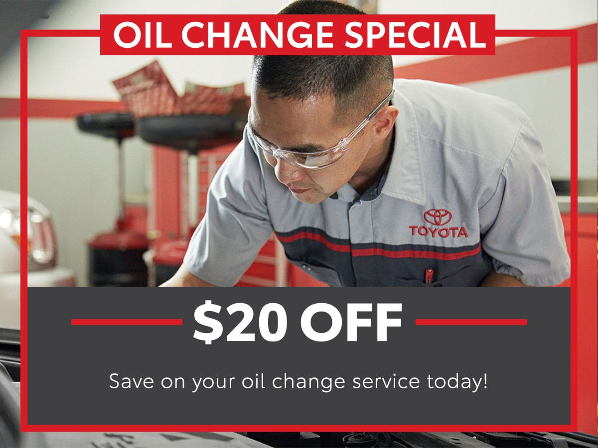 Oil Change Special Service Special Coupon