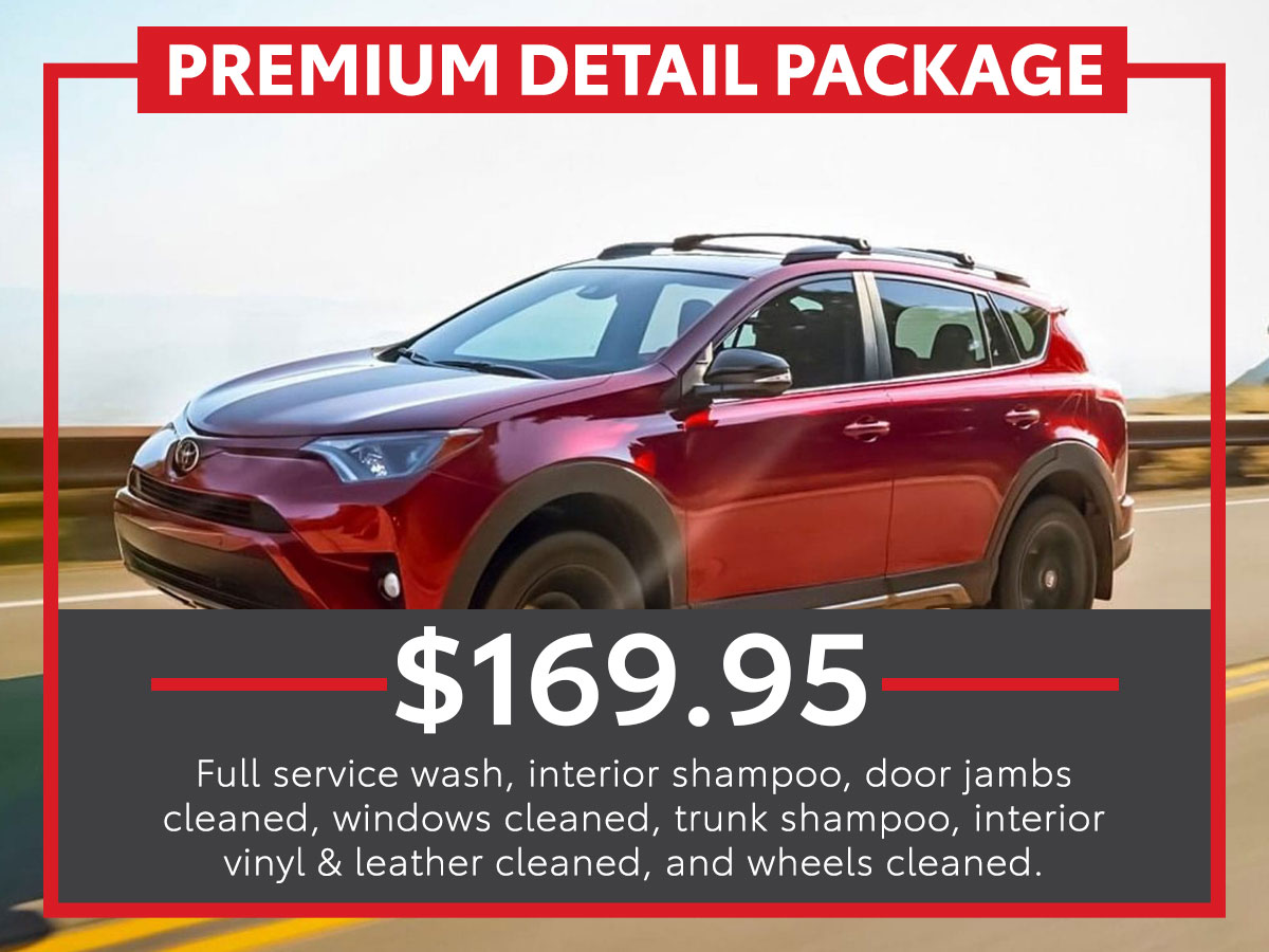Premium Detail Package Service Special Coupon