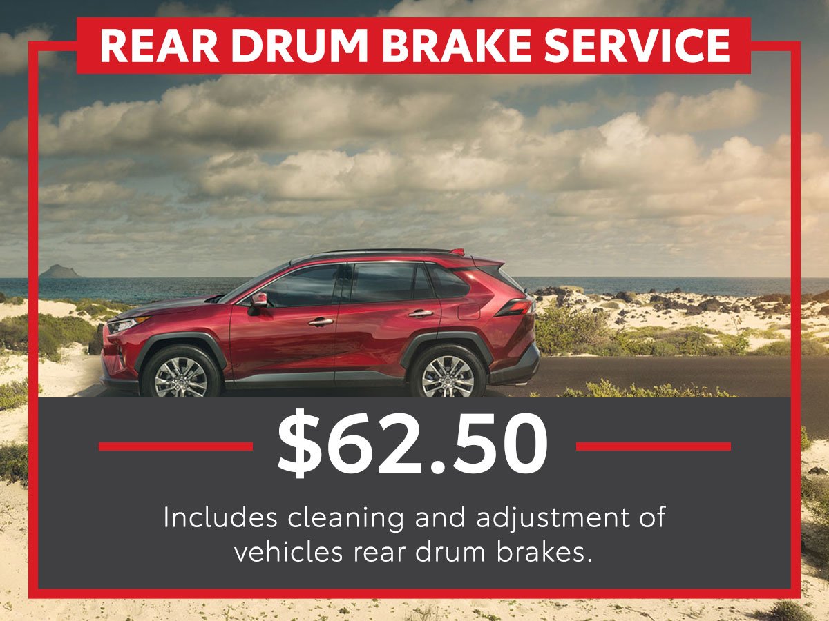 Rear Drum Brake Service Coupon