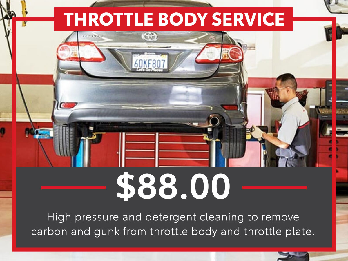 Throttle Body Service Special Coupon