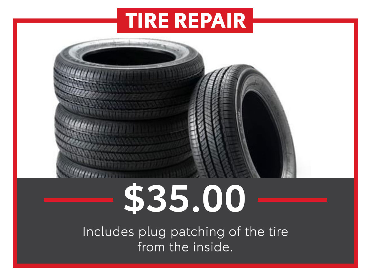 Tire Repair Service Special Coupon