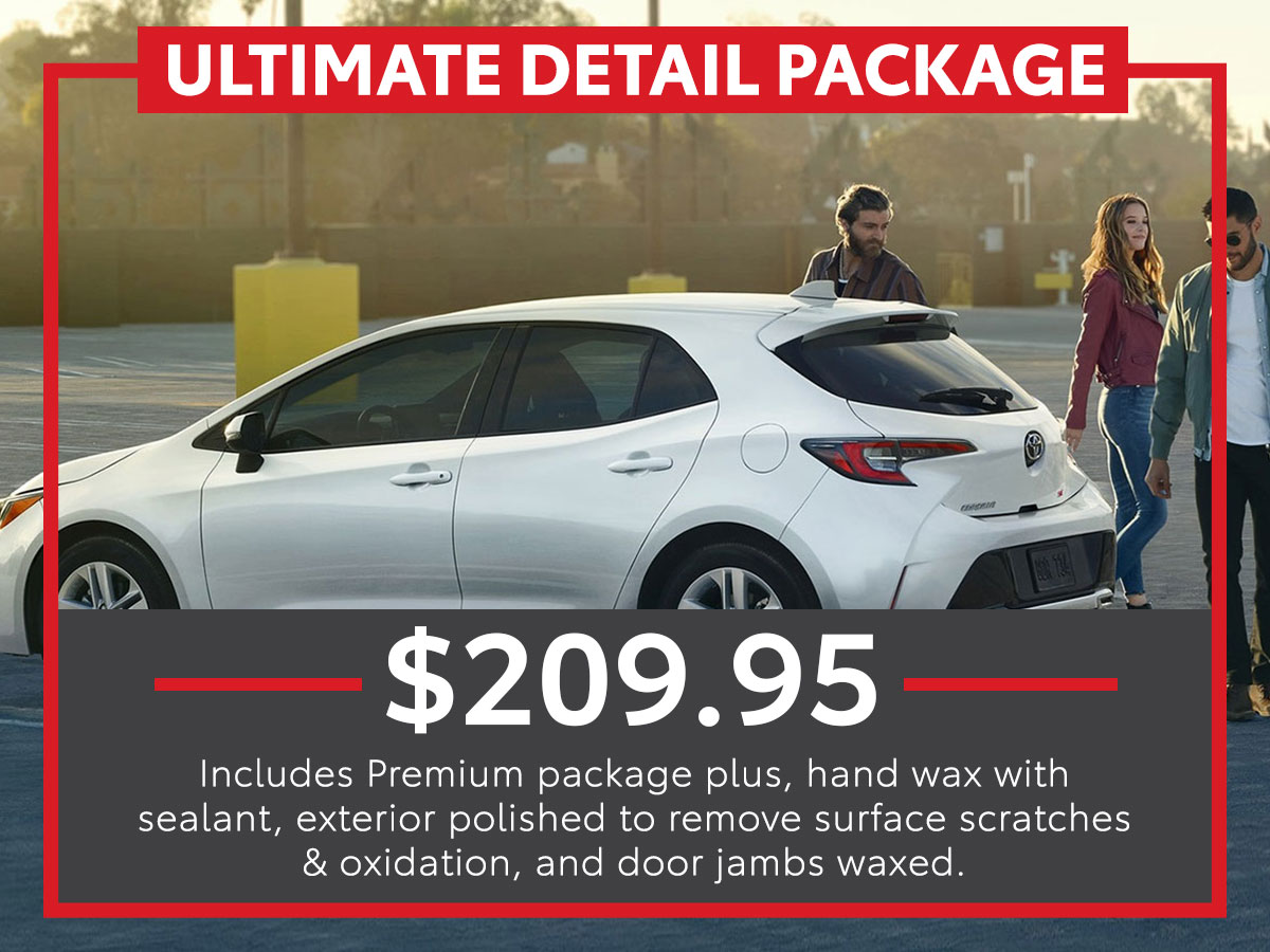 Ultimate Detail Package Service Special Coupon