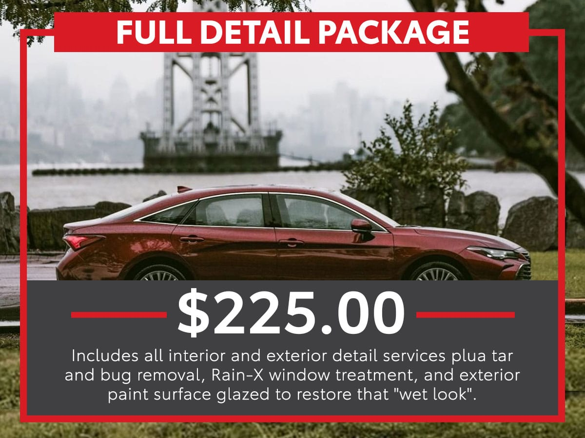 Platinum Detail Package Service Special Coupon
