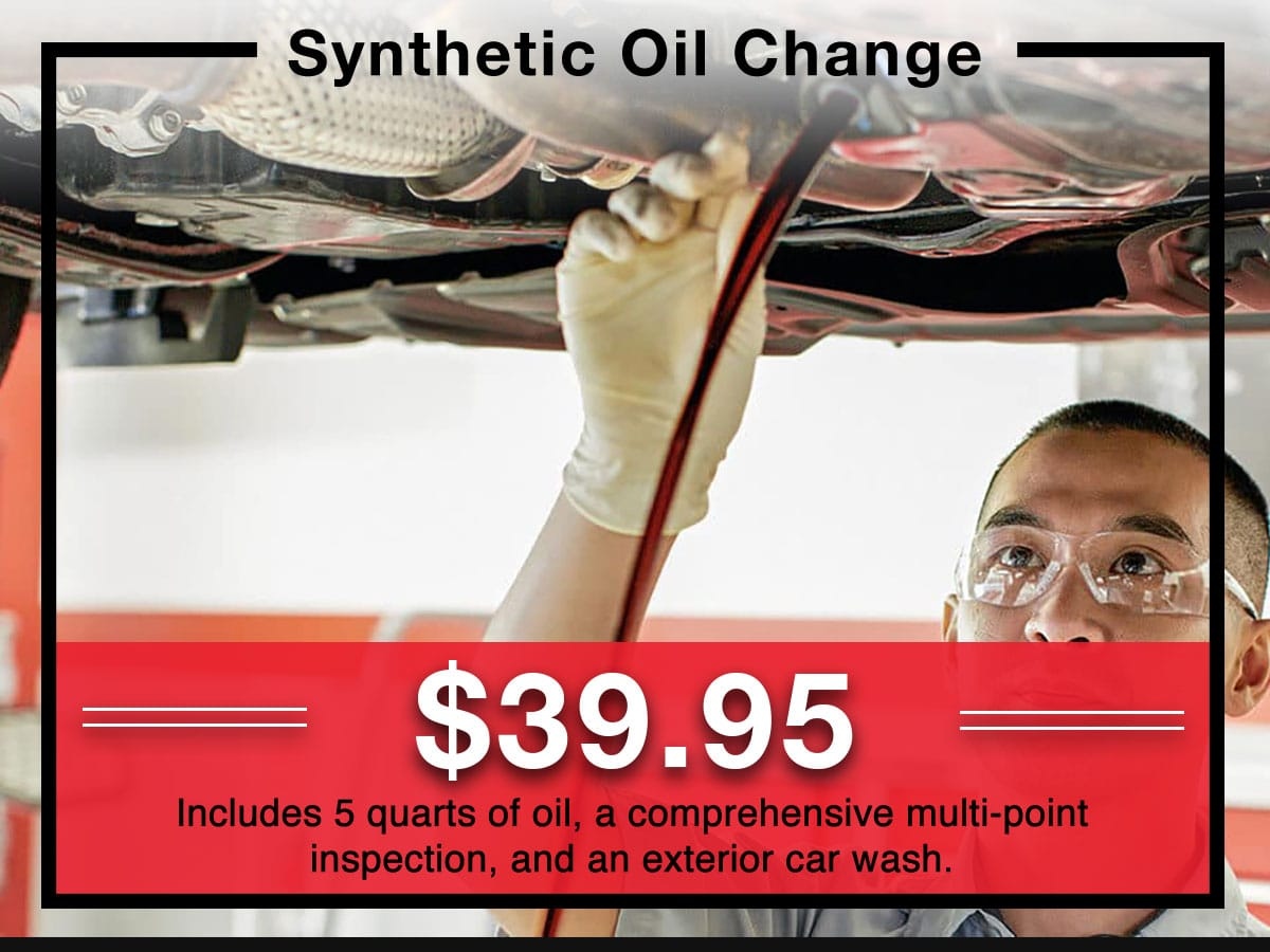 Full Synthetic Oil & Filter change service Special coupon | Toyota of New Orleans