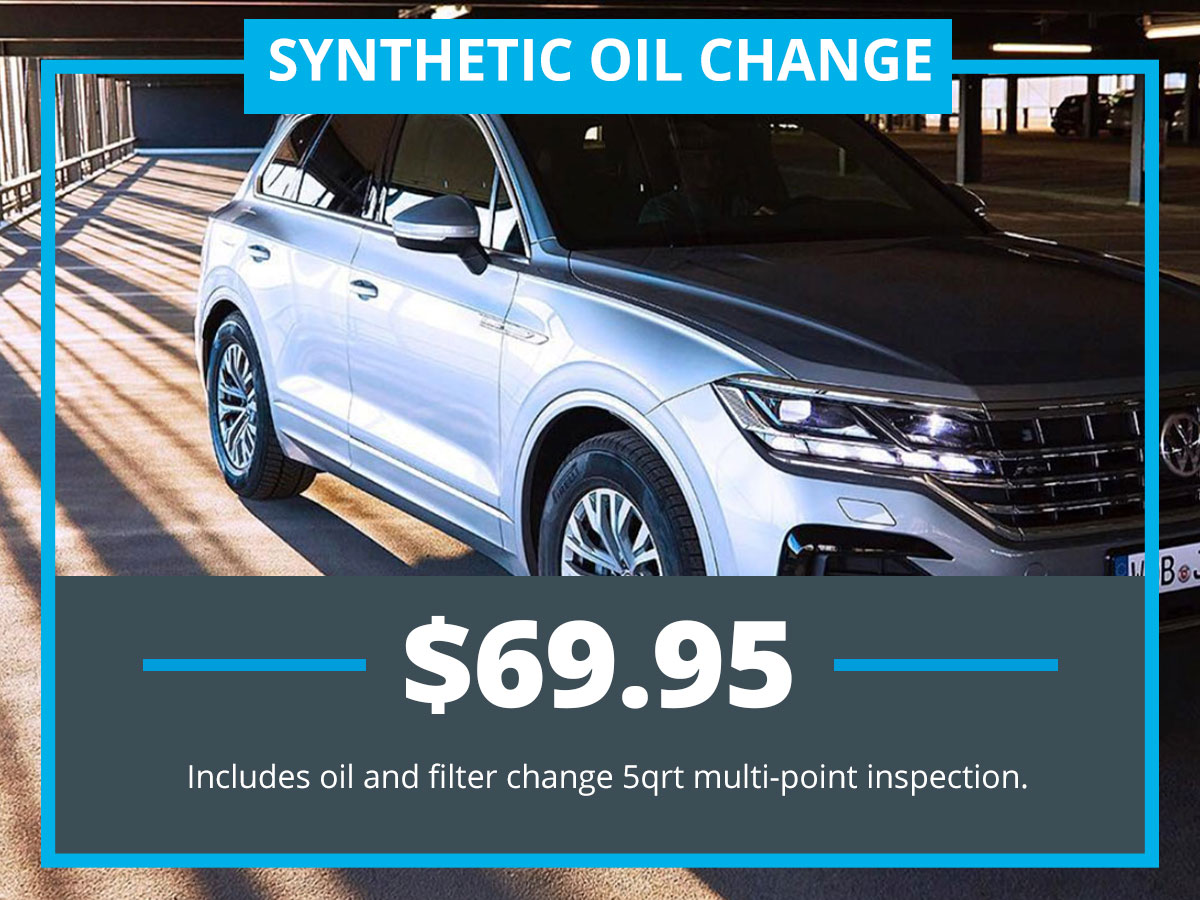 Synthetic Oil Change special at VW of Inver Grove