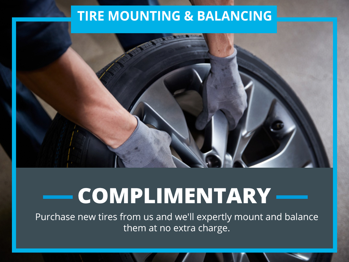 Tire Mounting & Balancing at VW of Inver Grove