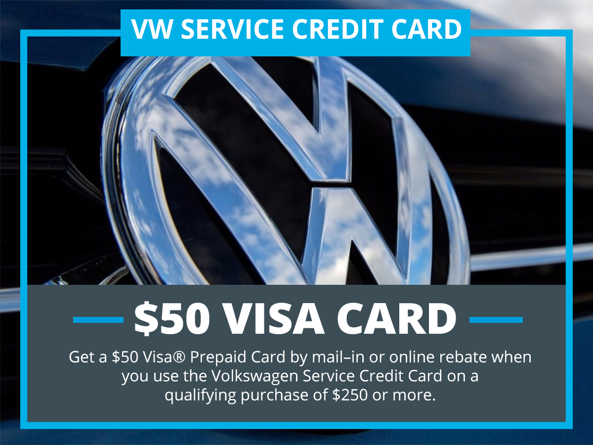 VW Service Credit Card at VW of Inver Grove