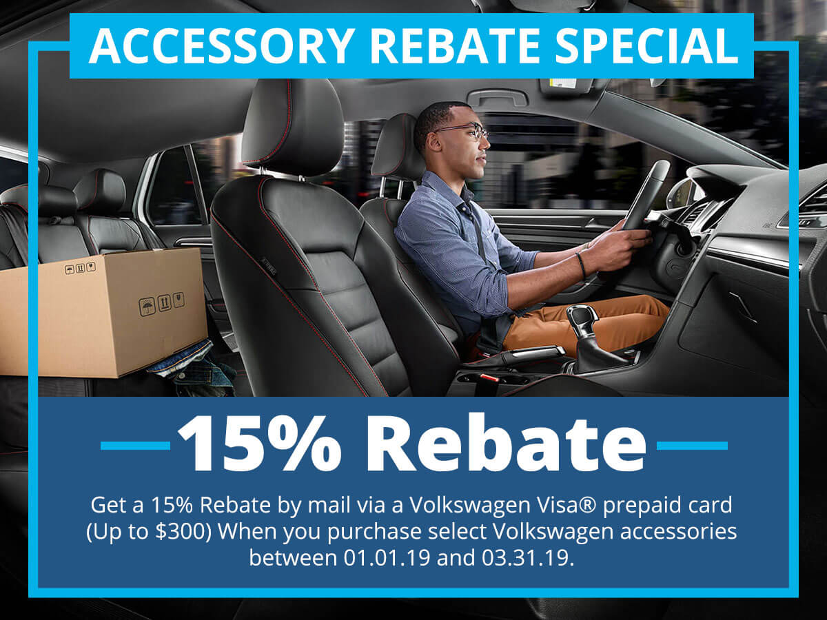 Accessory Rebate Special Coupon VW of Inver Grove Heights, MN