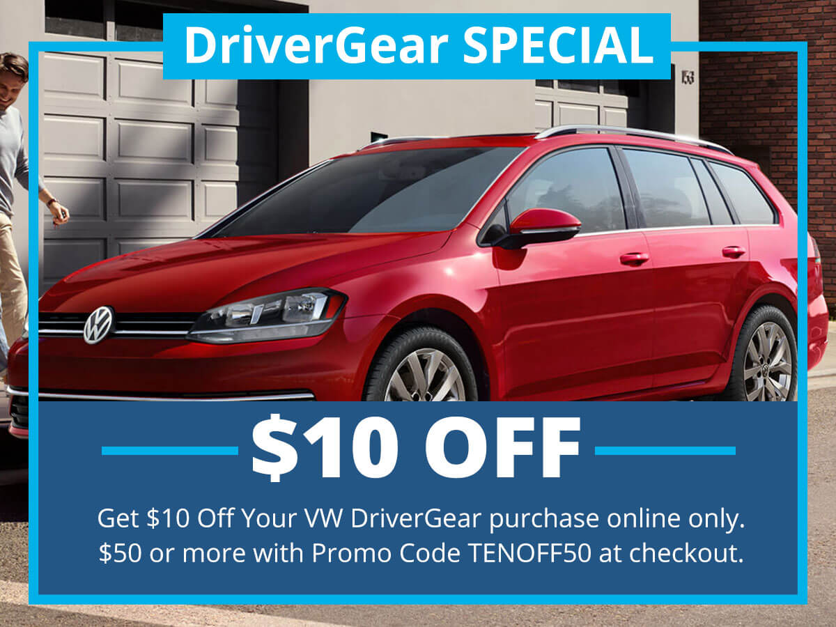 DriveGear Special Coupon VW of Inver Grove Heights, MN