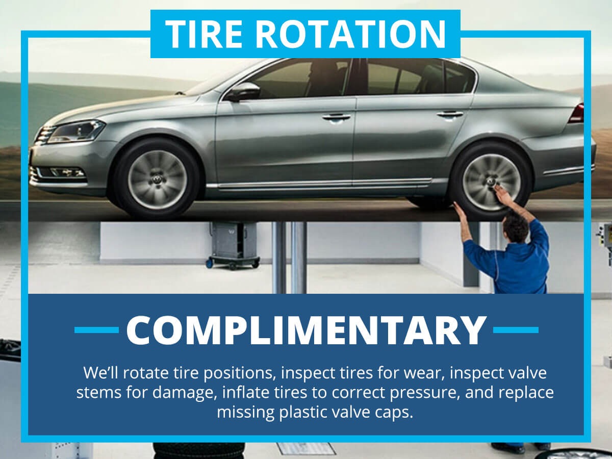 Tire Rotation Service Special Coupon VW of Inver Grove Heights, MN