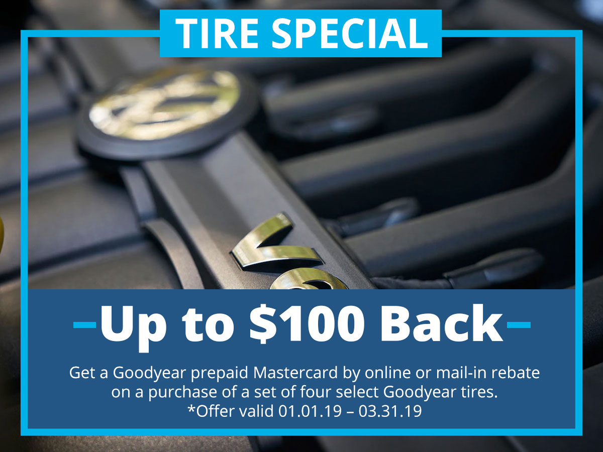 Tire Special Service Special Coupon VW of Inver Grove Heights, MN