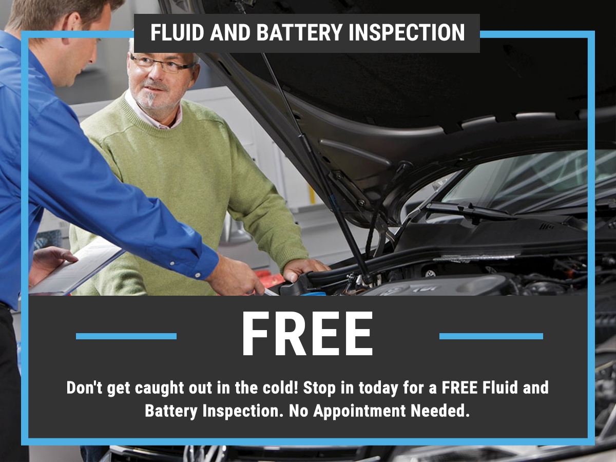 VW Fluid Battery Inspection Special Coupon