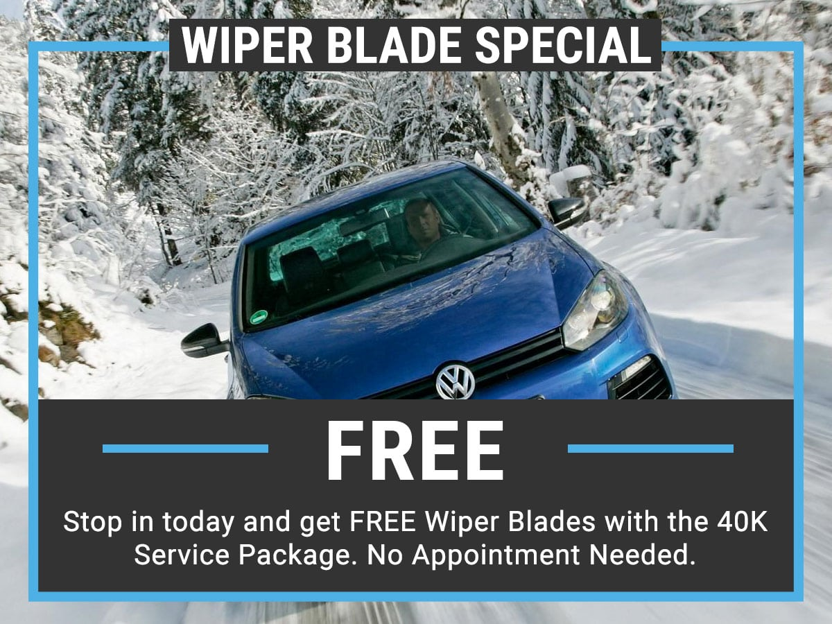 VW Wiper Blade Coupon