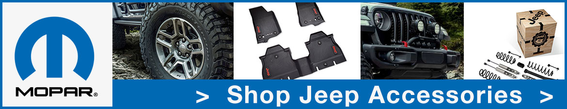 Genuine Mopar Jeep Accessories