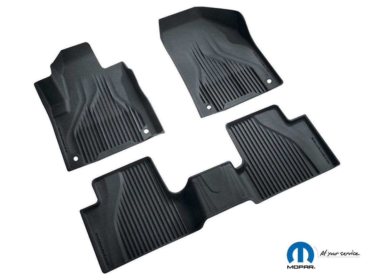 Chrysler Dodge Jeep Ram All-Weather Floor Mats Accessory