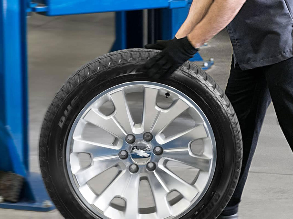 Chevy Buick GMC Tire Tread & Pressure Check Service in Columbus, OH