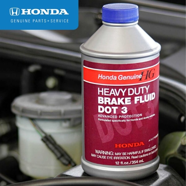 Honda Brake Fluid Exchange Service