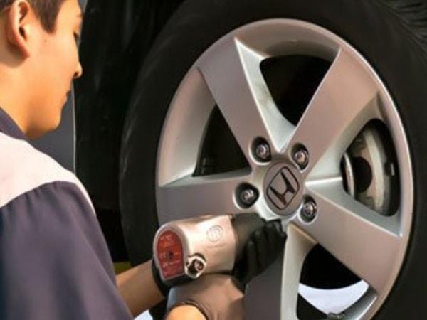 Honda Tire Balance Service