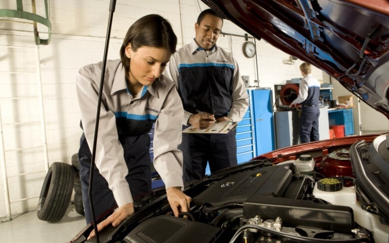 Mazda Check Engine Light Diagnosis Service Special Torrance, California